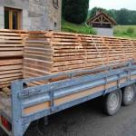 livraison bois scierie mobile dauvergne sardent creuse