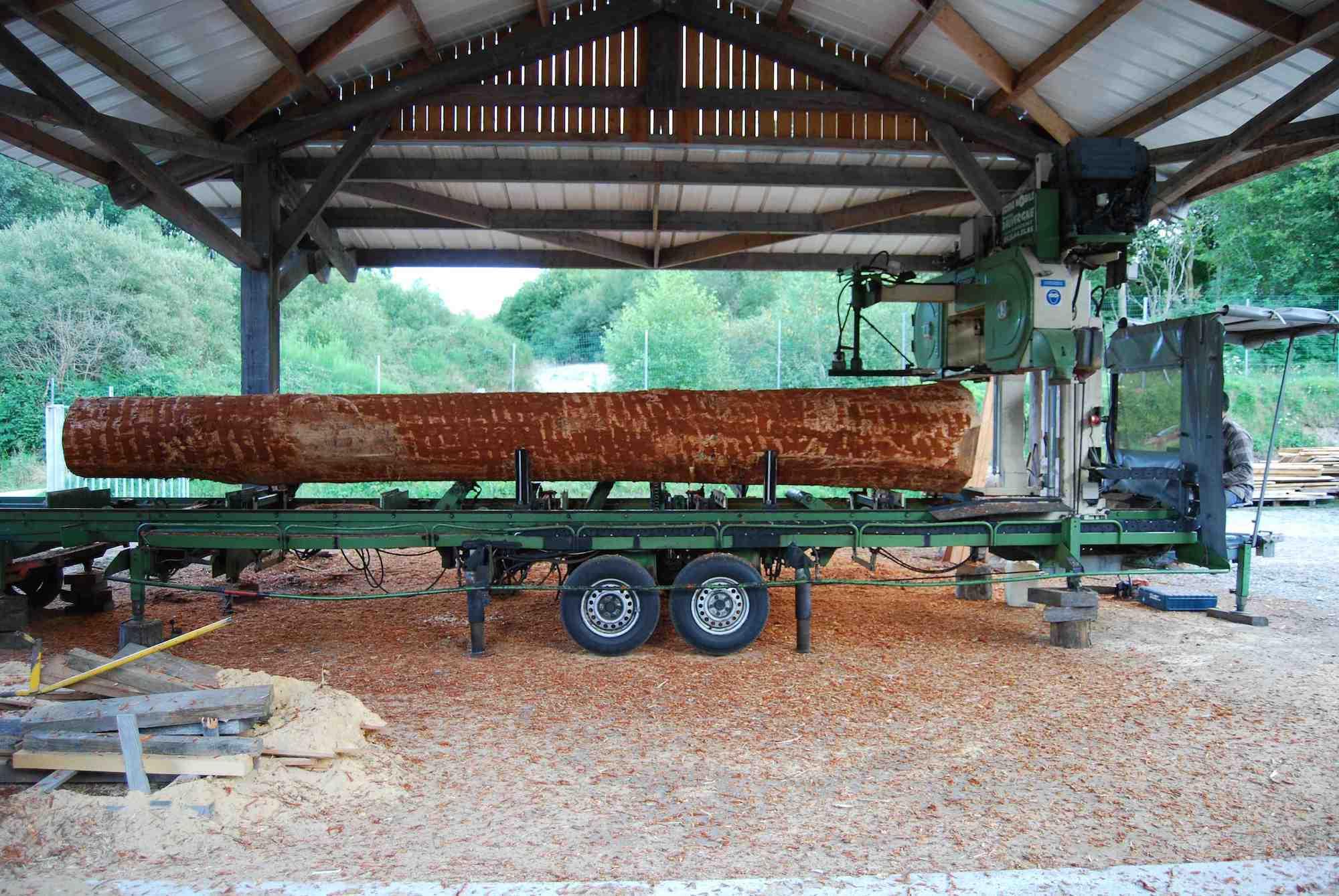 Scierie Mobile Dauvergne, sciage et vente de boisà sardent creuse 23 # Sciage De Bois A Domicile